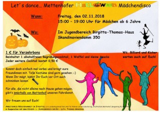 Mettenhofer Mädchendisco