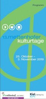 Mettenhofer Kulturtage 2019
