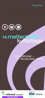 Die 14. Mettenhofer Kulturtage starten am Freitag