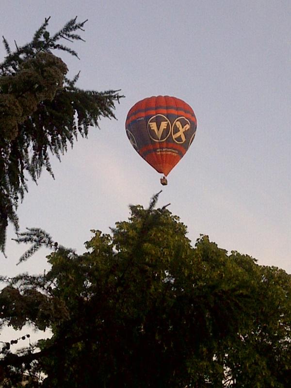 Ausblick: Ballons über Mettenhof