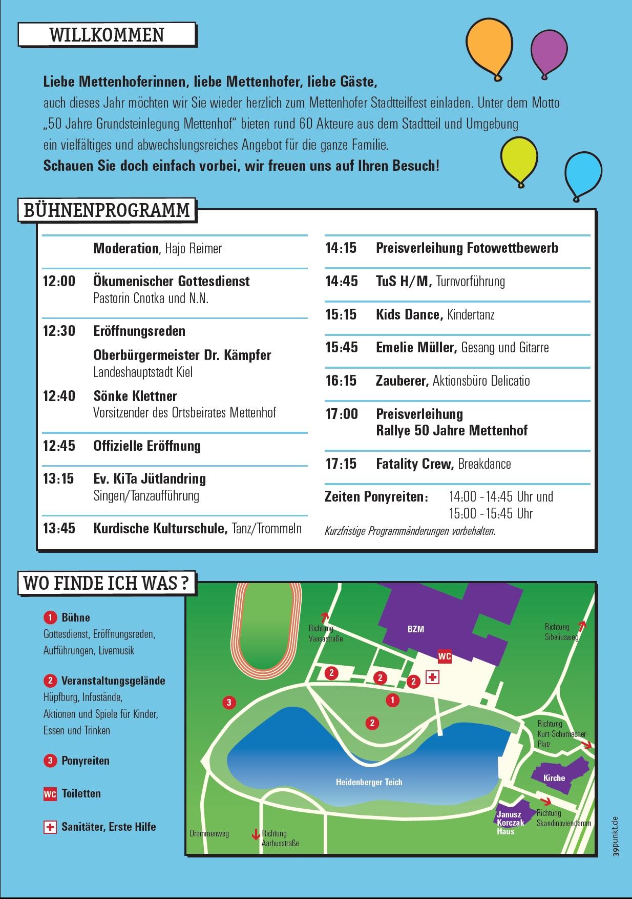Stadtteilfest im Jubiläumsjahr