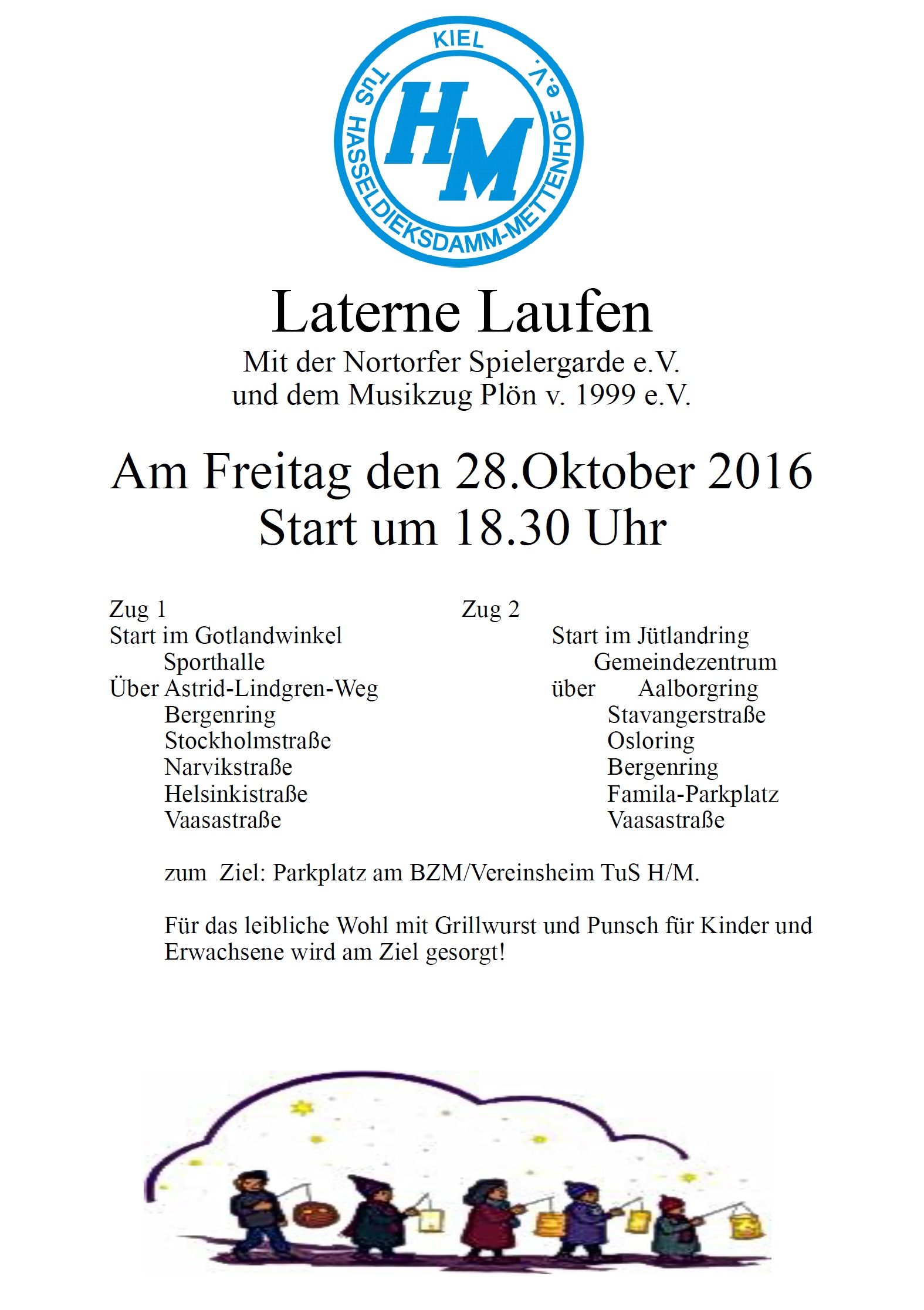 Laternenumzug 2016