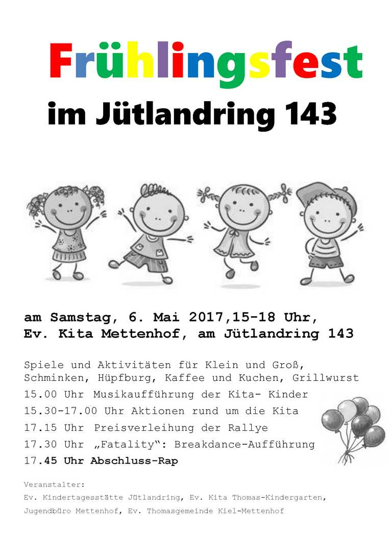 Frühlingsfest am Jütlandring