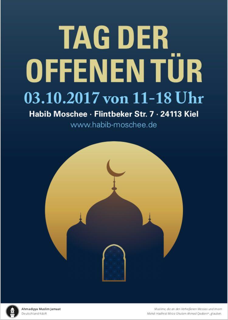 Tag der offenen Tür in der Habib Moschee